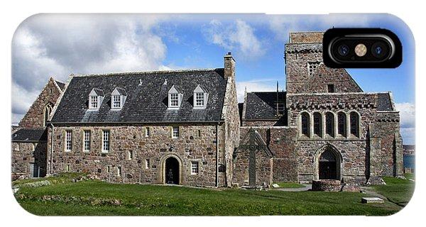 Iona Abbey Scotland IPhone Case