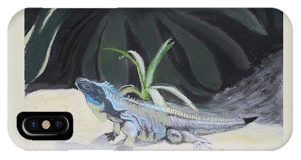 Iquana Lizard At Sarasota Jungle IPhone Case