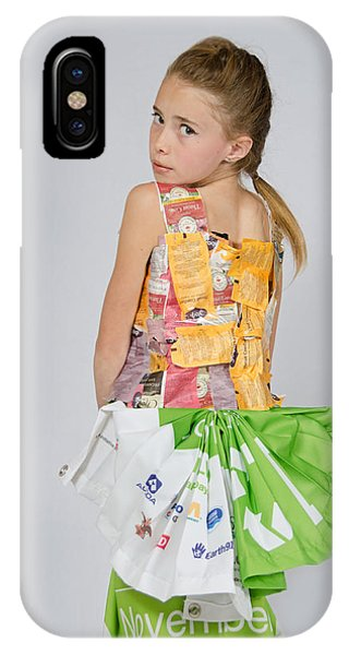 Irene In Tea Bags Shirt And Banners Skirt IPhone Case