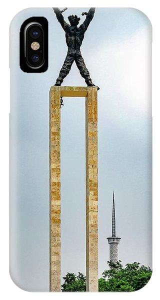 iPhone Case - Irian Jaya Liberation Monument by Steven Richman