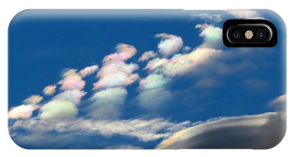 Iridescent Clouds 2 IPhone Case