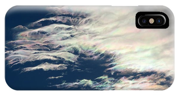 Iridescent Clouds 3 IPhone Case