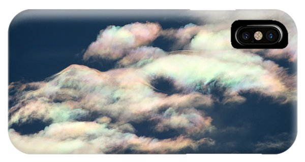 Iridescent Clouds IPhone Case
