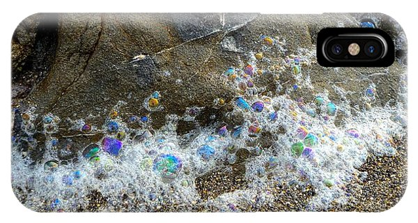 Iridescent Seafoam Necklace IPhone Case