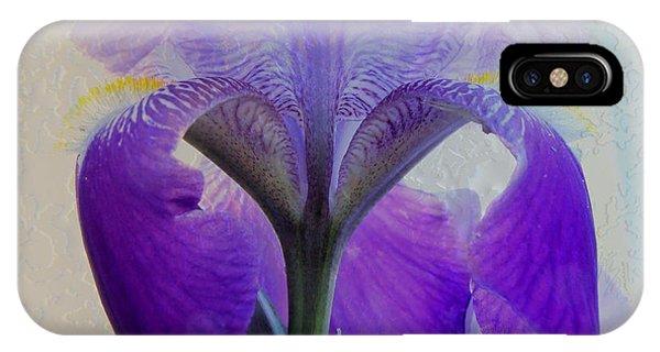 Iris And Ice IPhone Case