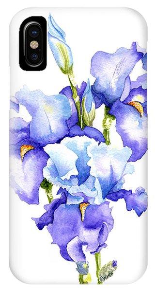 Iris Blooms IPhone Case