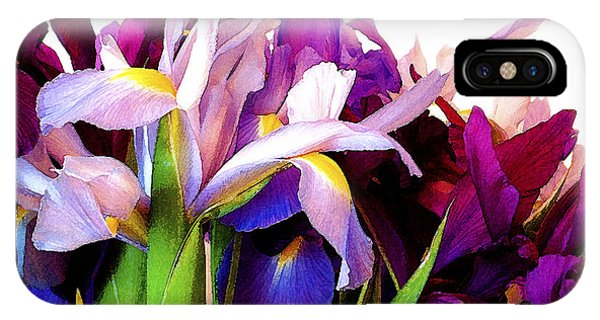 Iris Bouquet IPhone Case