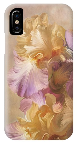 Lovely Iris IPhone Case