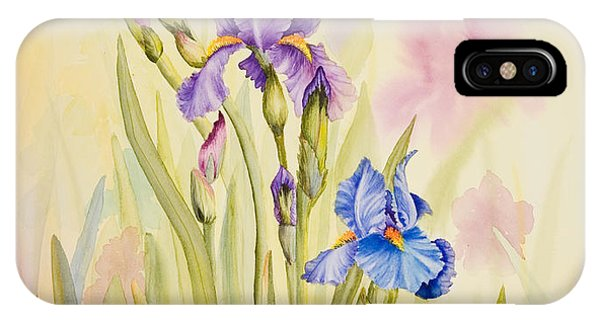 Iris Garden Ll IPhone Case