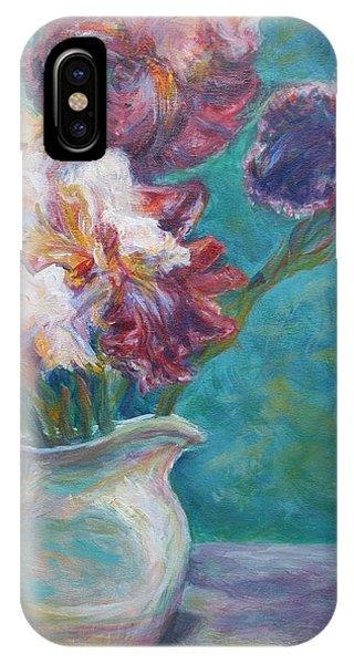 Iris Medley - Original Impressionist Painting IPhone Case