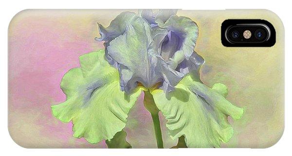 Iris Pastels IPhone Case