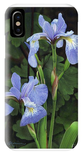Iris Study IPhone Case