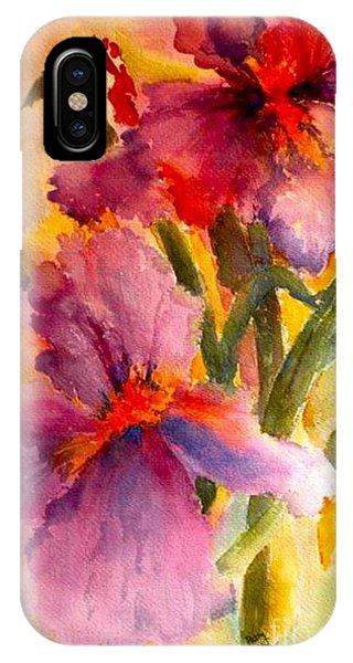 Iris Twins IPhone Case