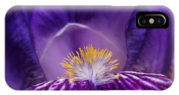 Iris Upclose IPhone Case