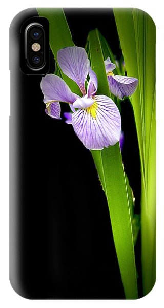 IPhone Case featuring the photograph Iris Via Iphone by Onyonet  Photo Studios