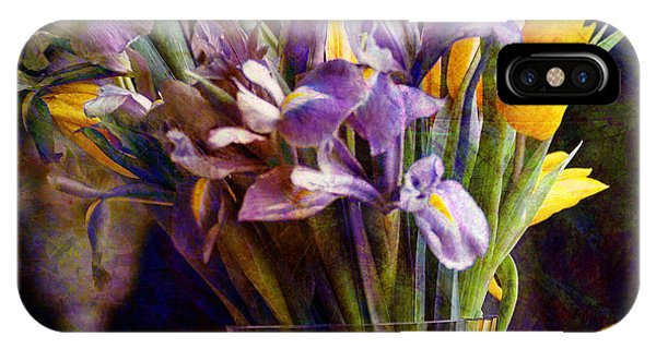 Irises In A Glass IPhone Case