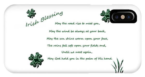 Irish Blessing 2 IPhone Case