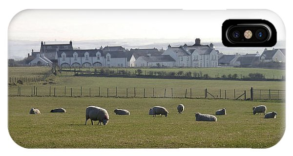 Irish Sheep Farm IPhone Case