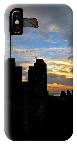 Irish Sunset Over Ramparts 1 IPhone Case