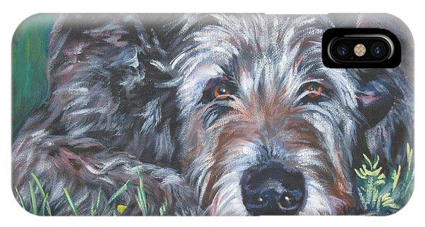 Irish Wolfhound IPhone Case