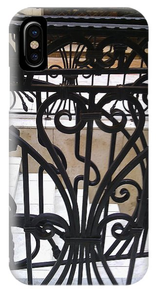 Iron Decorative Heart IPhone Case