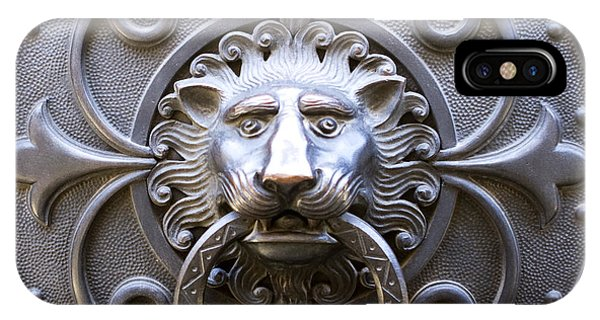 Iron Lion IPhone Case