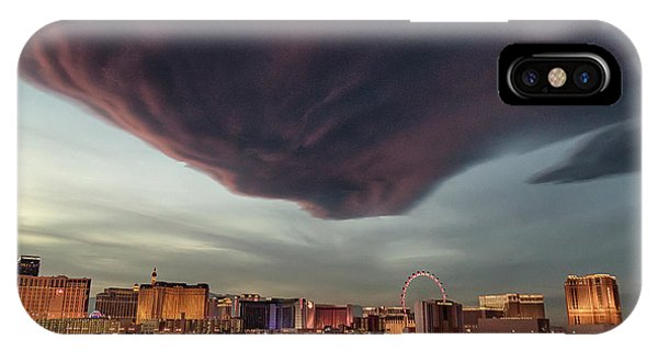 IPhone Case featuring the photograph Iron Maiden Las Vegas by Michael Rogers