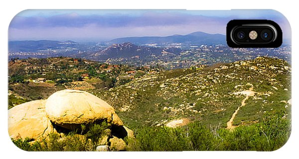 Iron Mountain View IPhone Case
