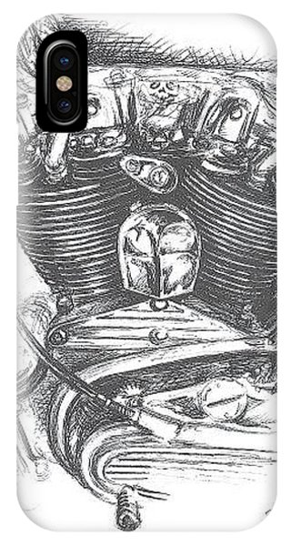iPhone Case - Ironhead by Jacki Randall