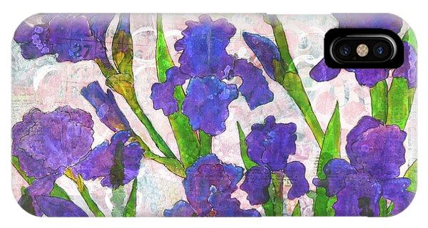 Irresistible Irises IPhone Case