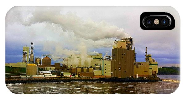 Irving Pulp Mill #3 IPhone Case