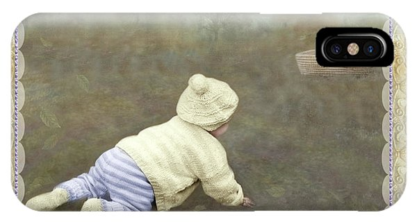 Is Bunny In The Basket? IPhone Case