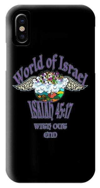 Isaiah 45 Verse 17 IPhone Case