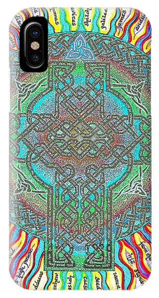 IPhone Case featuring the painting Isaiah Bible Code by Hidden Mountain