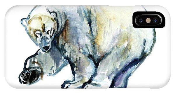 Bear iPhone Case - Isbjorn by Mark Adlington