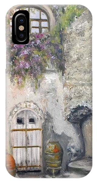 Ischia Courtyard IPhone Case