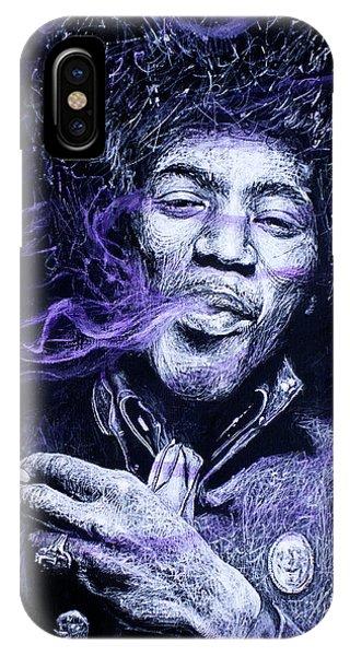 I S C M- Purple Haze IPhone Case