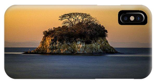 Island At Sunset IPhone Case