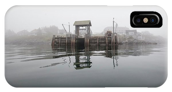 Island Boat Dock IPhone Case