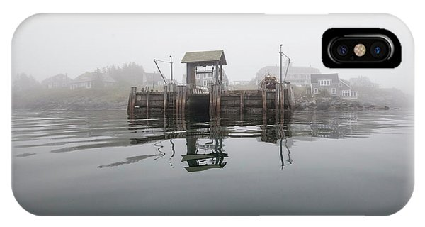 Island Boat Dock IPhone Case