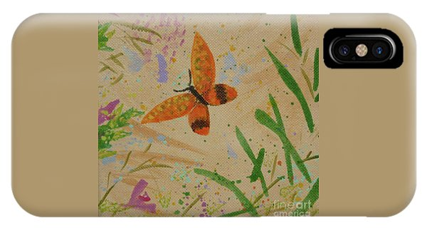 Island Butterfly Series 3 Of 6 IPhone Case