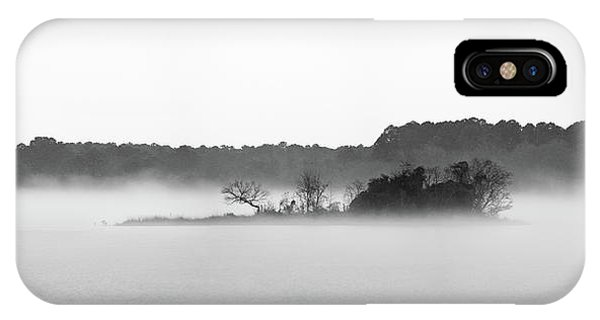 IPhone Case featuring the photograph Island In The Fog by Todd Aaron