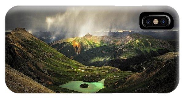 Island Lake IPhone Case