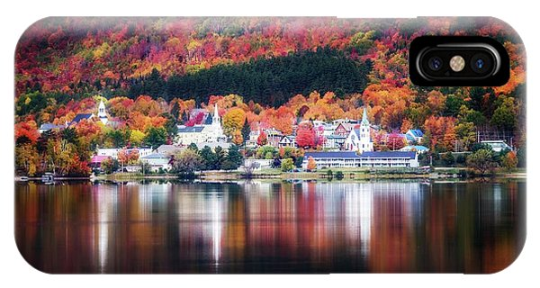 Island Pond Vermont IPhone Case