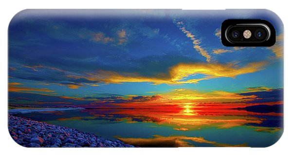 Island Sunset IPhone Case