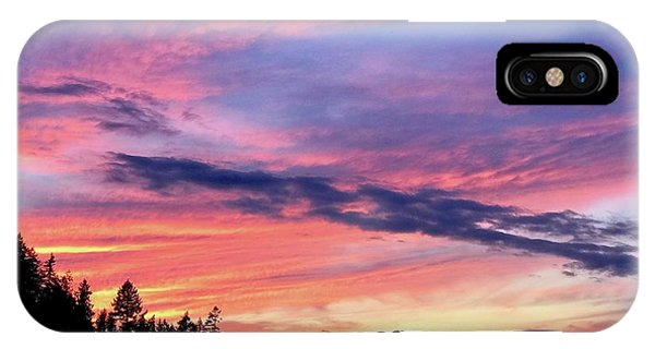 Island Sunset IPhone Case