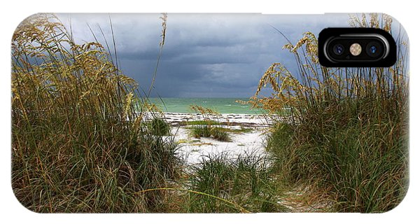 Island Trail Out To The Beach IPhone Case
