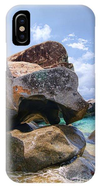Island Virgin Gorda The Baths IPhone Case
