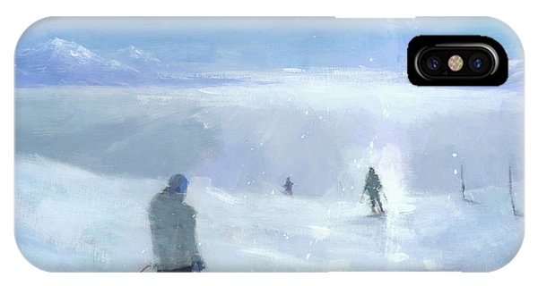 Winter iPhone Case - Islands In The Cloud by Steve Mitchell