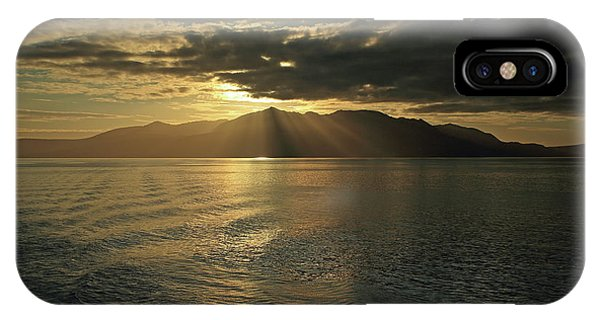 Isle Of Arran At Sunset IPhone Case